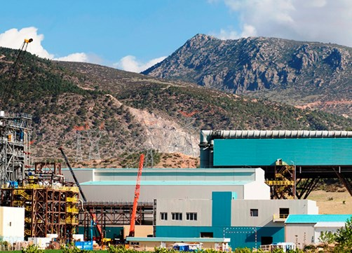 combined cycle power plant of 775 mw  denizli - turkey